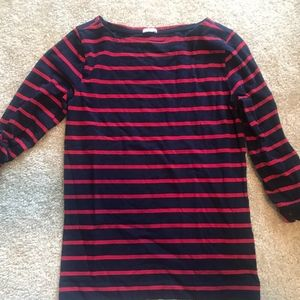 Forever 21 3/4 Sleeve Striped shirt